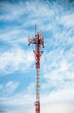 Antennas of cellular communication Royalty Free Stock Images