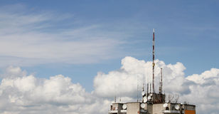 Antennas Royalty Free Stock Photos