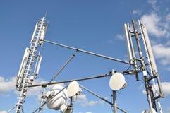 Antennas cellular systems Stock Photos