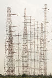 Antennas forest Stock Photo