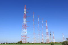 Jamming antennas Royalty Free Stock Photos