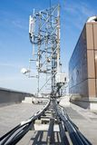 Antennas for mobile phone technology Stock Photo