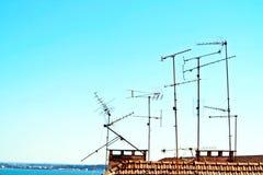 Antennas Stock Image