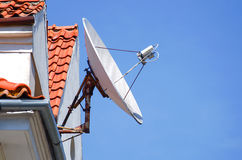 Antennas to receive TV signals Stock Images