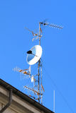 Antennas varied Stock Photography