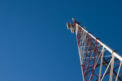 antenncomunication Royaltyfri Fotografi