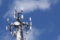 Antenne à hyperfréquences images libres de droits