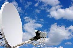 Antenne à la maison de TV photos stock