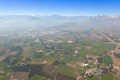 Antenne über Chile Stockbild