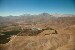 Antenne über Chile Lizenzfreie Stockfotografie