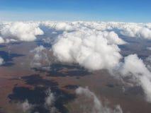 Antenne über Kenia Stockbild