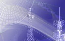 Antenne stock illustratie