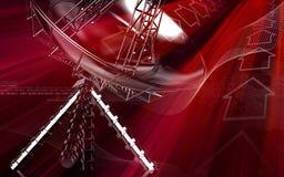 Antenne royalty-vrije illustratie