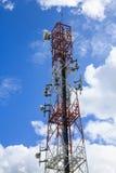 Antenne avec le ciel bleu Images libres de droits