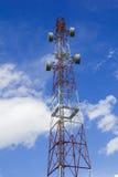 Antenne avec le ciel bleu Photos libres de droits