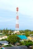 Antenne binnen uit stad Royalty-vrije Stock Afbeeldingen