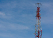Antenne, cellulaire technologie Stock Afbeelding