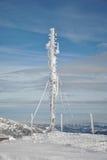 Antenne congelée photographie stock