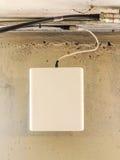 Antenne d'émetteur de téléphone portable Photographie stock libre de droits
