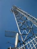 Antenne d'émetteur et de récepteur Photographie stock libre de droits