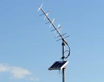 Antenne d'énergie solaire photo libre de droits