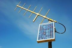 Antenne d'énergie solaire photo stock