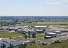 Antenne d'aéroport de Brantford Image libre de droits