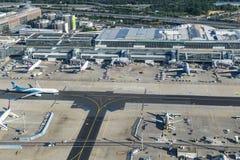 Antenne d'aéroport international de Francfort Photographie stock