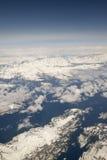 Antenne d'Anchorage Alaska Photographie stock libre de droits