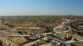 Antenne d'Atlanta banque de vidéos