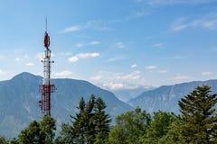 Antenne dans les montagnes Images stock