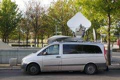 Antenne dans un véhicule images stock