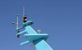 Antenne de bateau Photographie stock