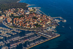 Antenne de Biograd Images stock