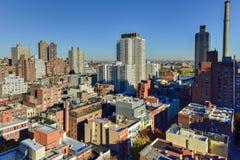 Antenne de côté est de Manhattan photos stock