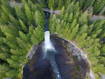 Antenne de cascade Photo libre de droits