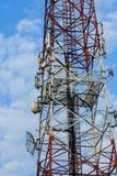 Antenne de communication Photographie stock