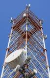 Antenne de communication Images libres de droits