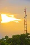 Antenne de communication de téléphone portable Photos stock