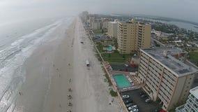 Antenne de Daytona Beach banque de vidéos