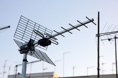 Antenne de fréquence ultra-haute image libre de droits