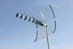 Antenne de fréquence ultra-haute Image stock