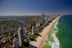 Antenne de Goldcoast image stock