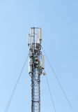 Antenne de GSM contre le ciel bleu Image stock