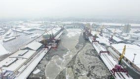 Antenne: De haven van Kaliningrad
