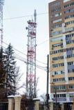 Antenne de la transmission TV Images stock