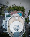 Antenne de longue clé de bateau de la Floride photo libre de droits
