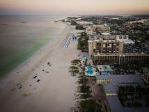 Antenne de longue clé de bateau de la Floride image libre de droits