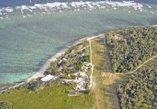 Antenne de Madame Elliot Island Photo stock