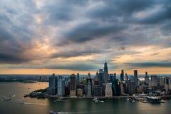 Antenne de New York photographie stock